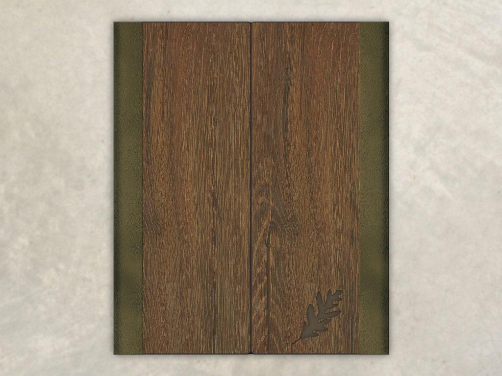 Formal Wood Menu Cover