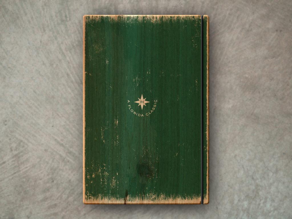 Rustic Green Wood Menu Board